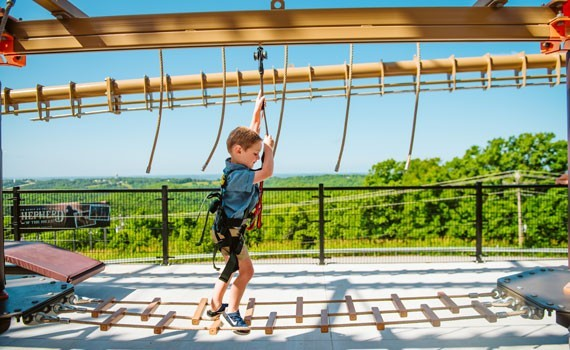Shepherd of the Hills Ropes Course