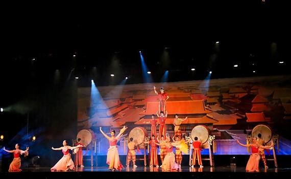Amazing Acrobats of Shanghai